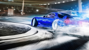Mazda Rx7 Drifting 4k Wallpaper