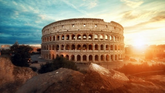Rome Colosseum Italy Wallpaper