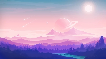 Alien Moon Nature 4k Wallpaper