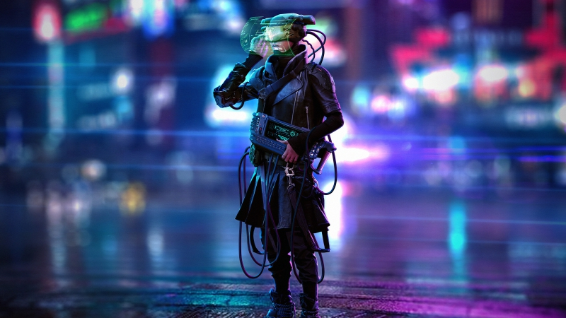 Retrunner Cyberpunk Scifi 4k Wallpaper