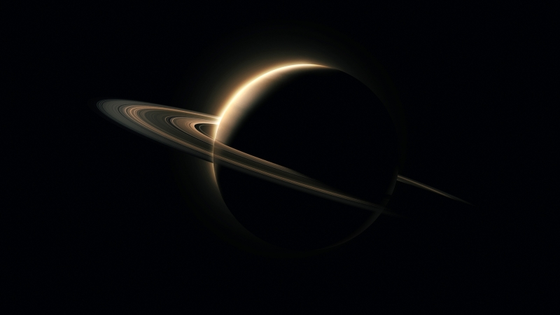 Planet Saturn Wallpaper