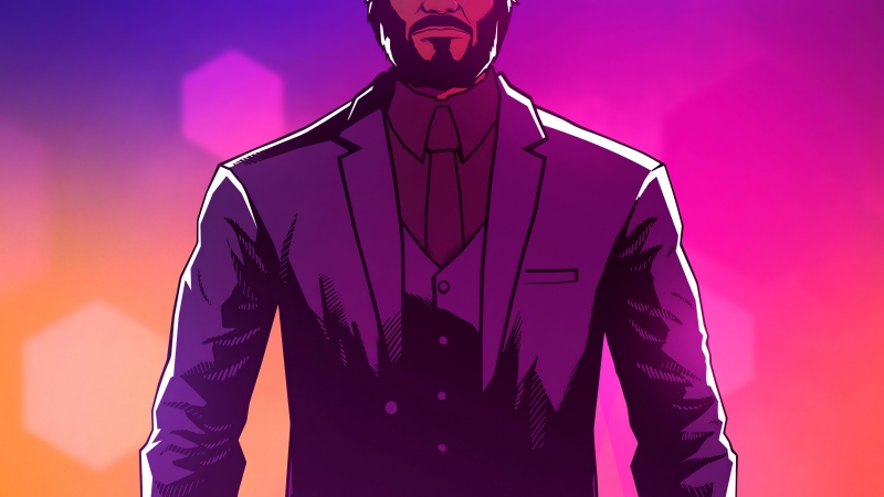 John Wick Hex 4k Wallpaper