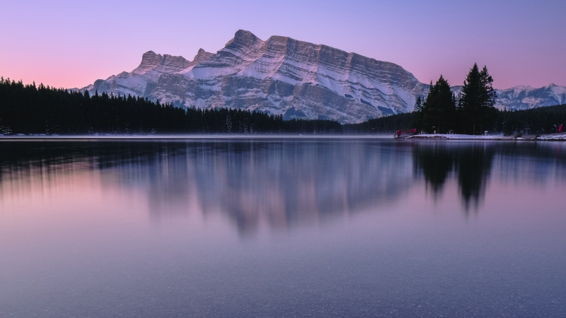 Mountain Reflection Lake Body Of Water 4k Wallpaper