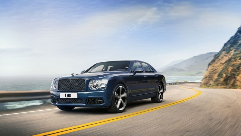 Bentley Mulsanne Edition by Mulliner 2020 K 8K Wallpaper
