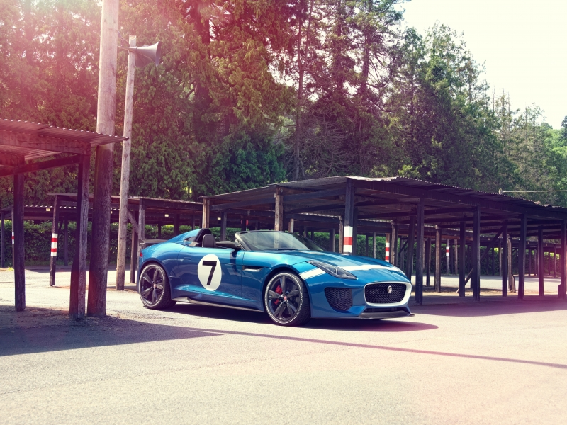 Jaguar Project 7 2020 Wallpaper
