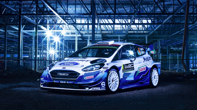 M-Sport Ford Fiesta WRC 2020 Wallpaper