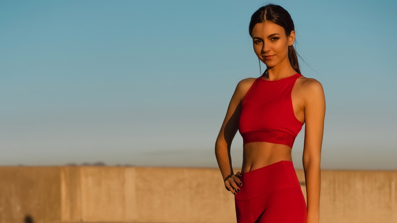 Victoria Justice Fabletics Photoshoot 2020 4k Wallpaper