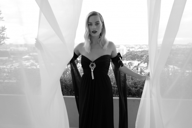 Margot Robbie Vogue Uk Oscar 4k Wallpaper