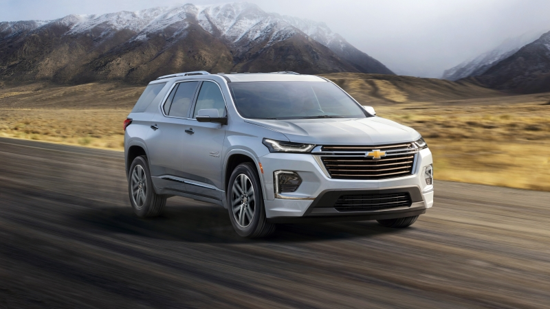 2021 Chevrolet Traverse High Country 5K Wallpaper