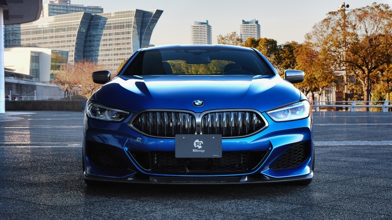 3D Design BMW M850i xDrive Coupe 2020 Wallpaper