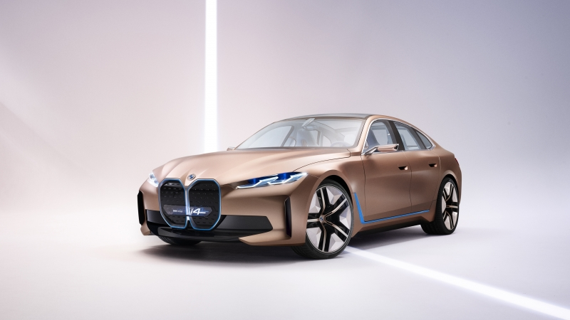 BMW Concept i4 2020 4K Wallpaper