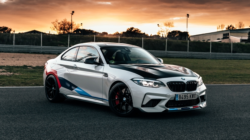 BMW M2 Competition M Performance Accessories 5K Wallpaper