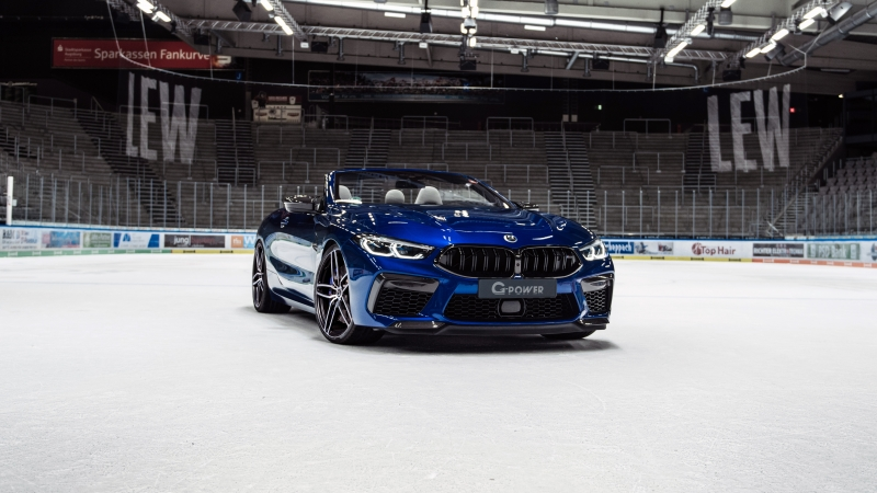 G-Power BMW M8 Competition Cabrio 2020 5K Wallpaper
