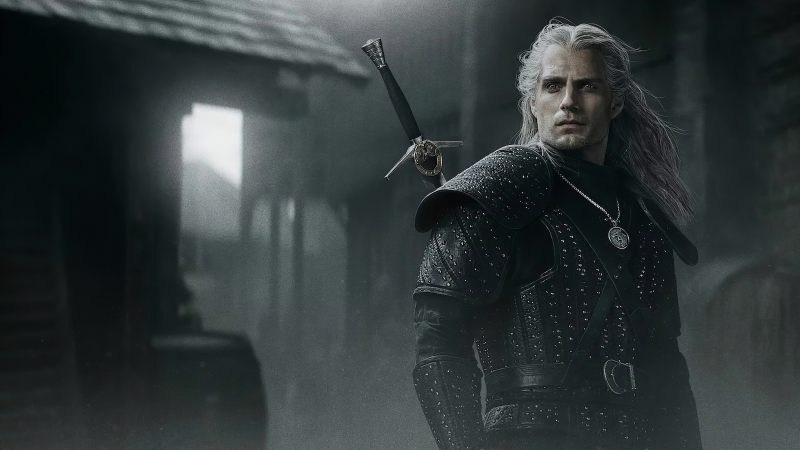 The Witcher Henry Cavill TV Series 5K Wallpaper
