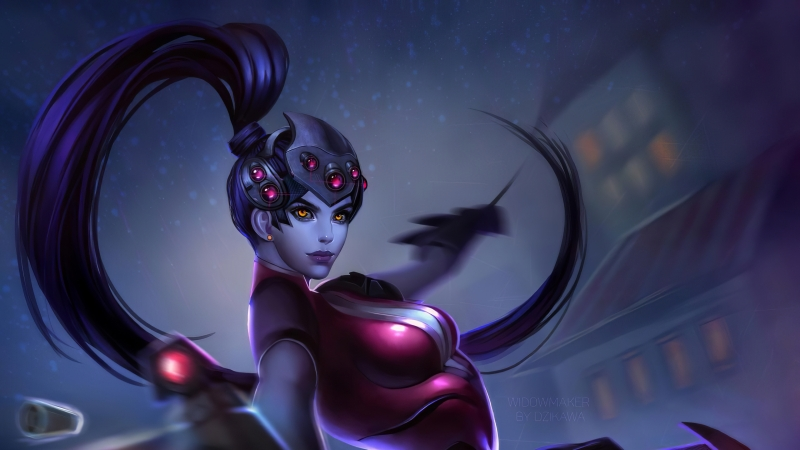 Widowmaker Overwatch Art 4k Wallpaper