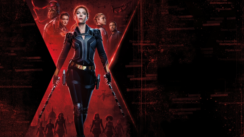 Black Widow 2020 Movie 4K 8K Wallpaper