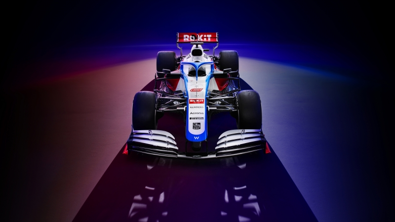 Williams FW43 2020 F1 Car 4K 8K Wallpaper