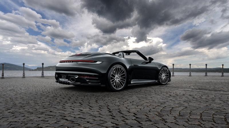 TechArt Porsche 911 Carrera 4S Cabriolet 2020 4K Wallpaper