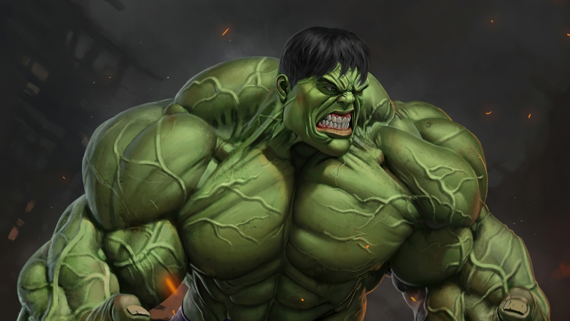 Hulk 4K HD Wallpaper
