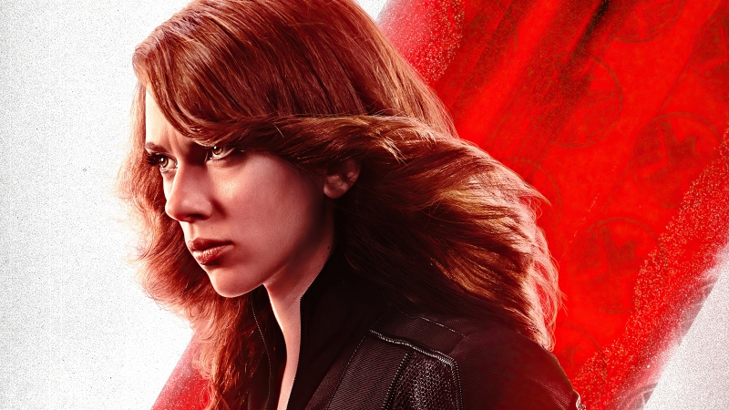 Black Widow 4K HD Wallpaper
