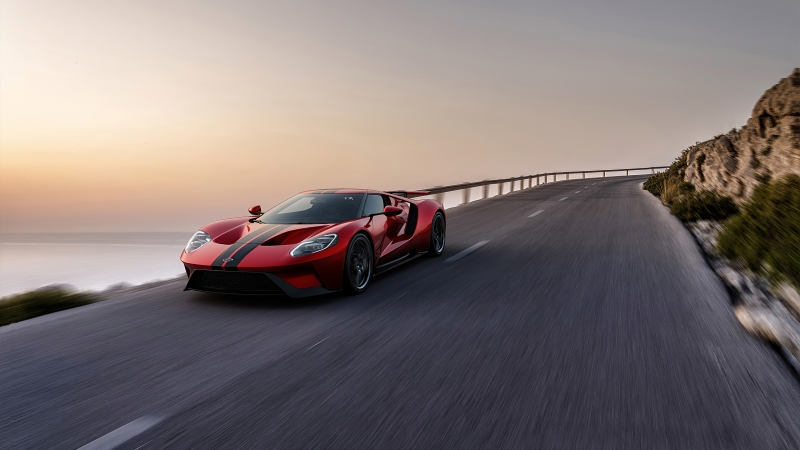 Ford GT Red 4K HD Wallpaper