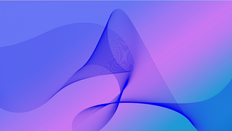 Abstract Line Wave 4K HD Wallpaper