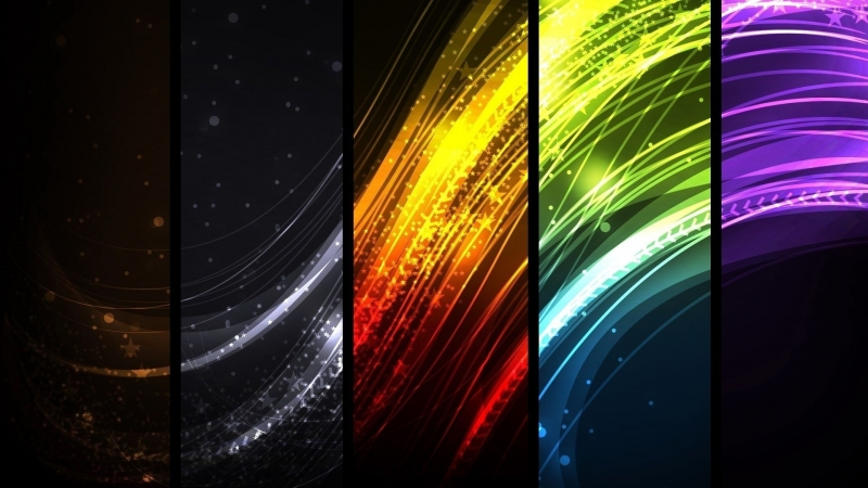 Abstract Ultra HD Colourful 4K HD Wallpaper