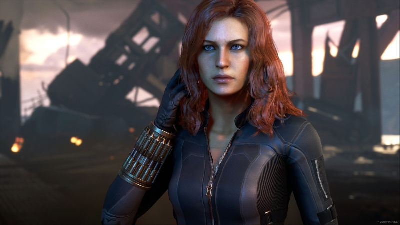 Black Widow Avengers Game 2020 4K HD Wallpaper