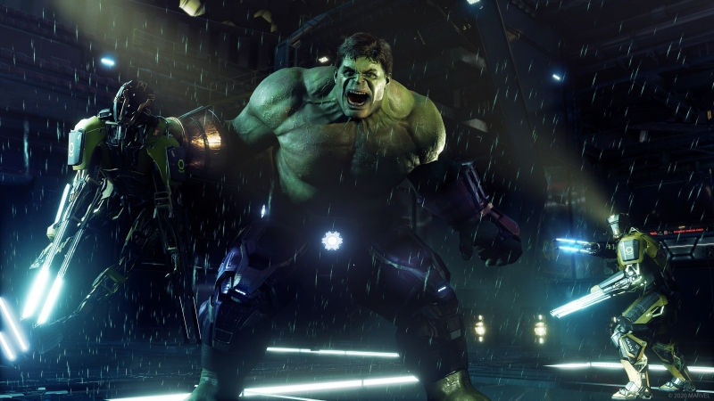 Hulk Marvel's Avengers Game 4K HD Wallpaper