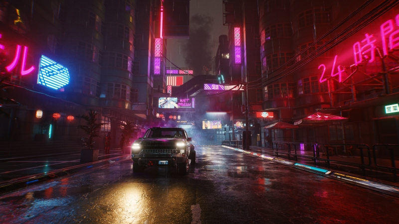 Cyberpunk 2077 Car 4K HD Wallpaper