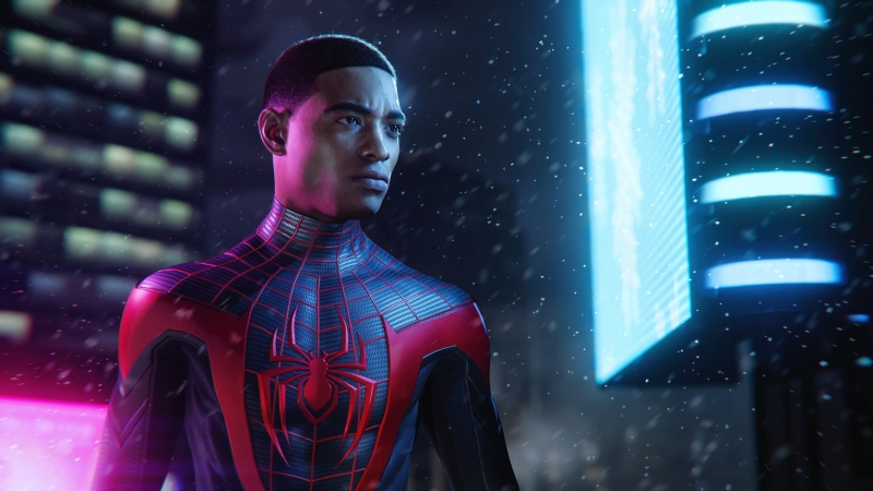 Spider Man Miles Morales Ps5 4K HD Wallpaper