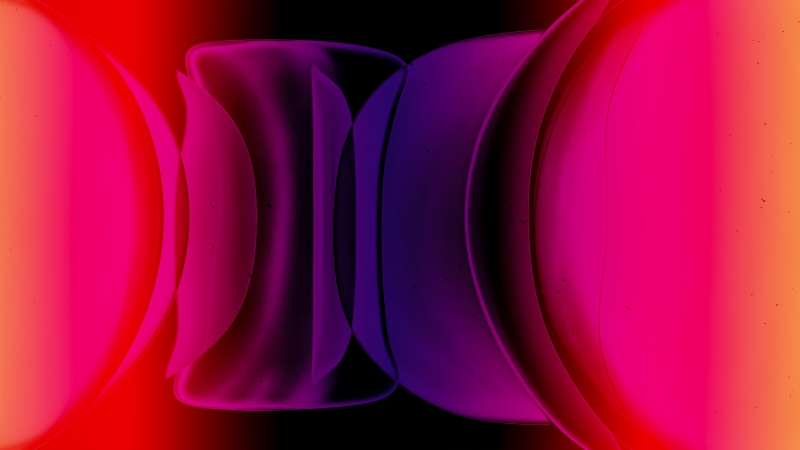 Red Abstract New Shapes 4K HD Wallpaper