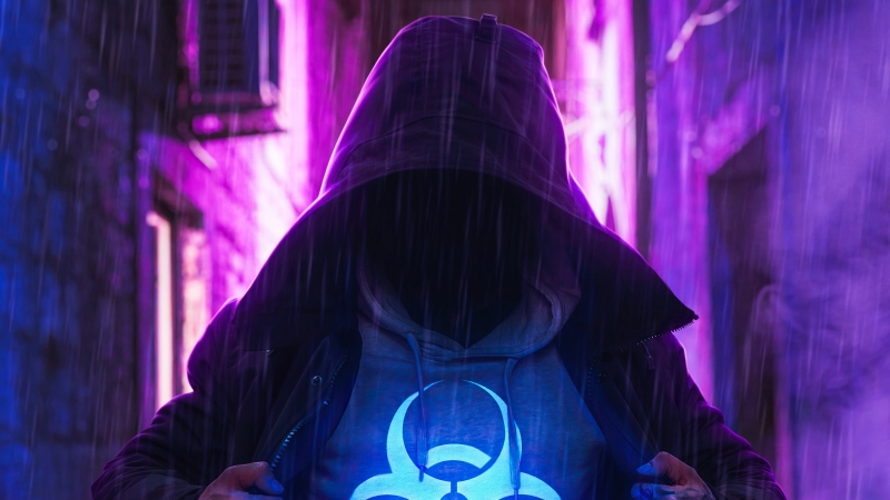 Hoodie Boy With Powers Wallpaper