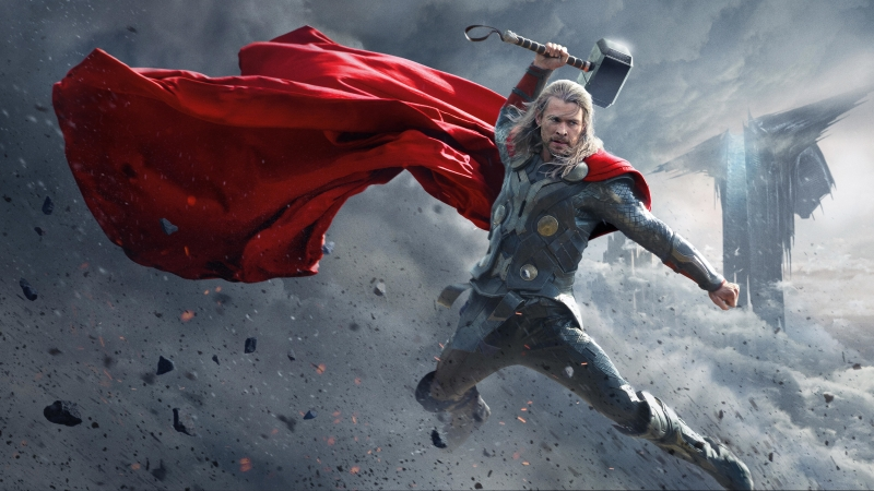 Thor The Dark World 4K 8K HD Wallpaper