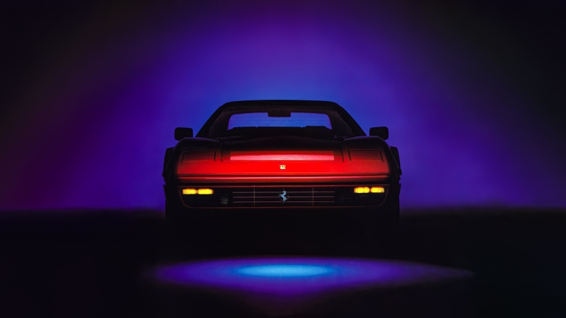 Ferrari Testarossa Italian Car 5k Wallpaper