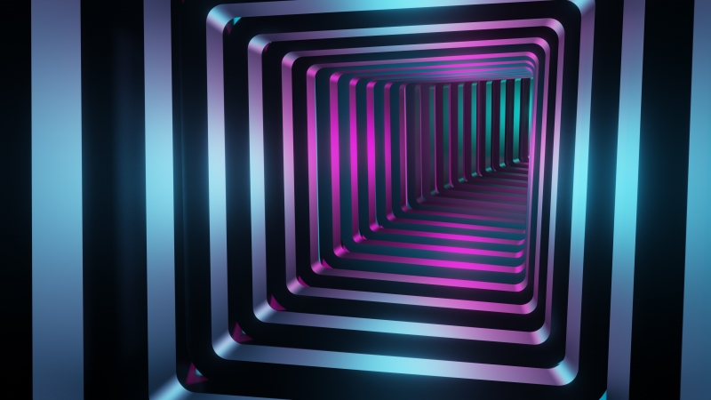 Abstract Tunnel 1 4K HD Wallpaper