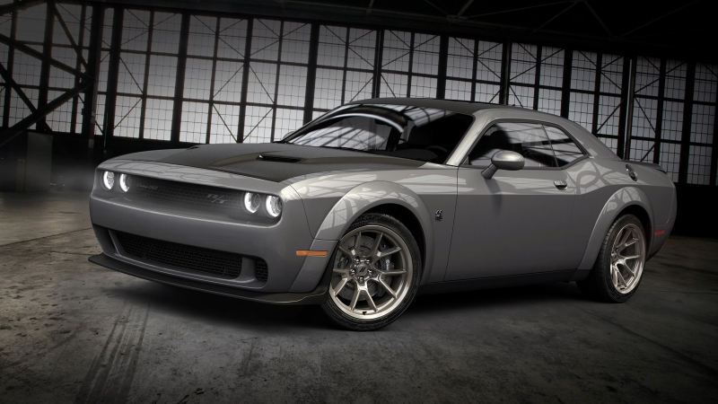 2020 Dodge Challenger RT Scat Pack Widebody 50th Anniversary Commemorative Edition 4K HD Wallpaper