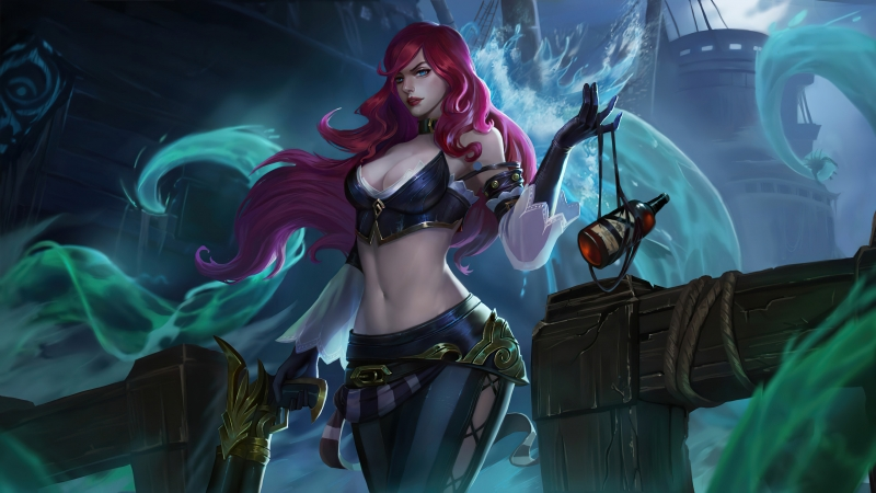 Miss Fortune 4K League Of Legends 4K HD Wallpaper