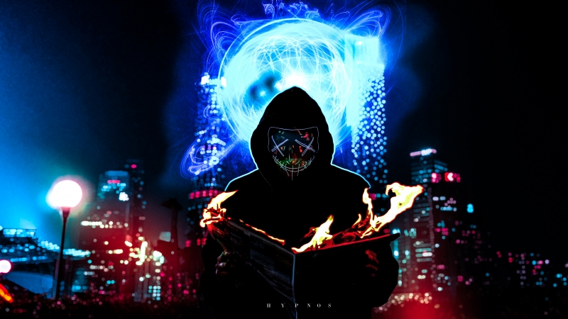 Dark Mask Men 4K 5K HD Wallpaper
