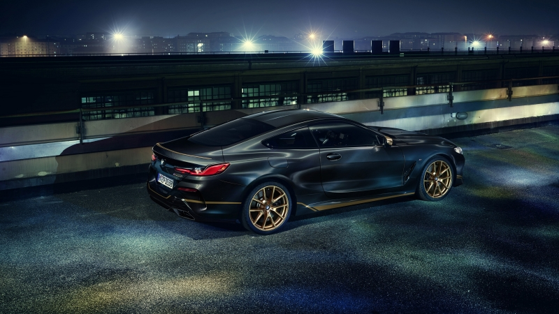 BMW M850i xDrive Coupe Edition Golden Thunder 2020 4K HD Wallpaper