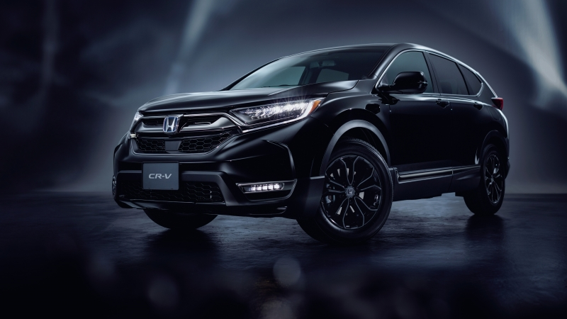 Honda CR-V eHEV Black Edition 2020 4K 5K HD Wallpaper