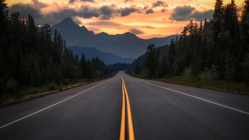 Man Made Road 4K HD Wallpaper