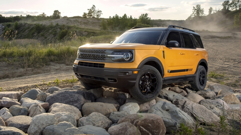 2021 Ford Bronco Sport First Edition 4K 5K HD Wallpaper