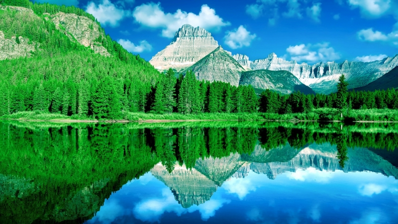 Earth Reflection HD Wallpaper