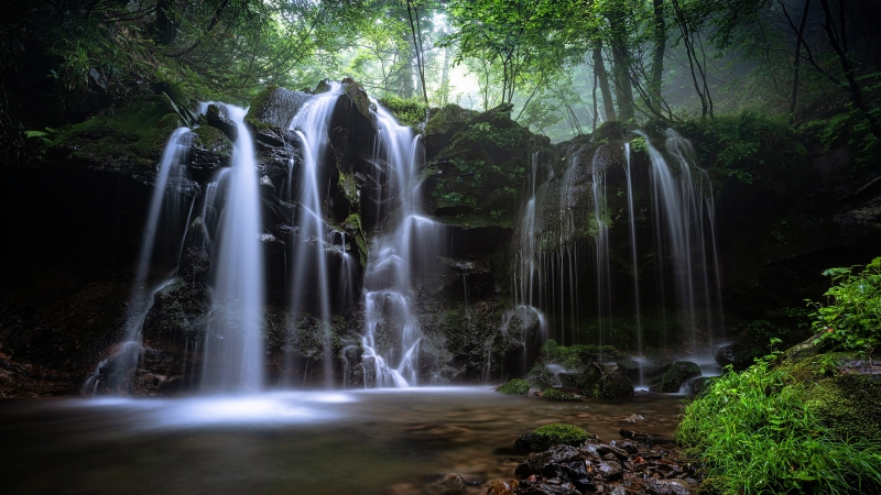 Earth Waterfall 4K HD Wallpaper