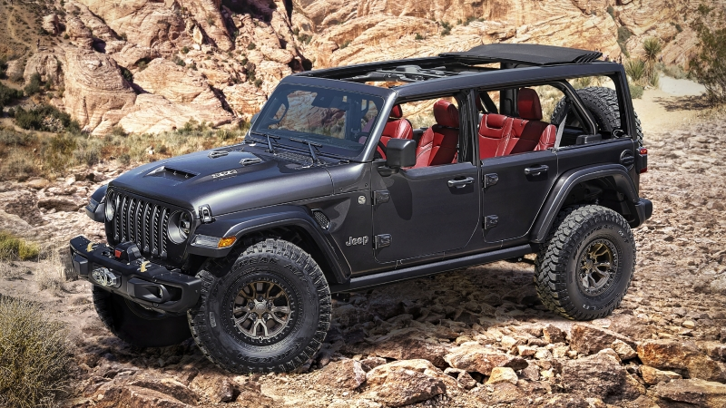 Jeep Wrangler Rubicon 392 Concept 2020 4K HD Wallpaper