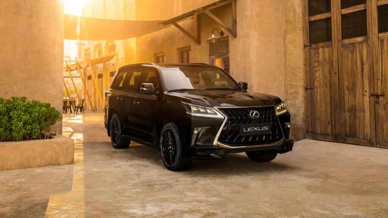 Lexus LX 570 S Black Edition 2020 4K 5K HD Wallpaper