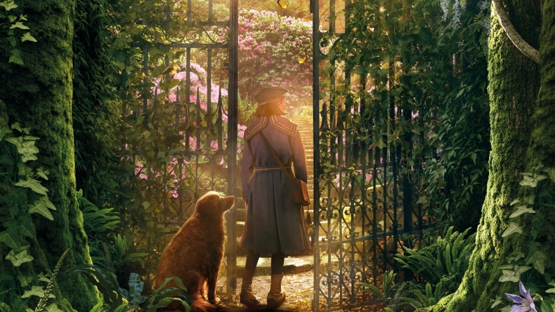 The Secret Garden HD Wallpaper