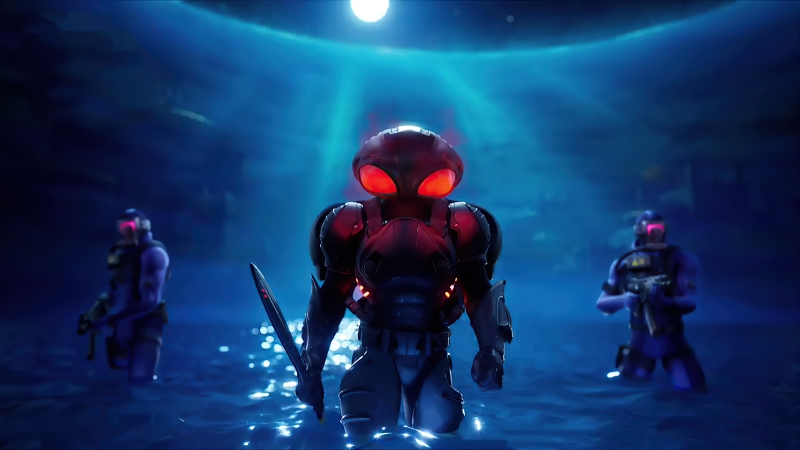 Black Manta Fortnite 4K HD Wallpaper