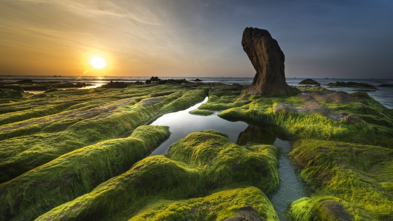 Earth Coastline 4K HD Wallpaper